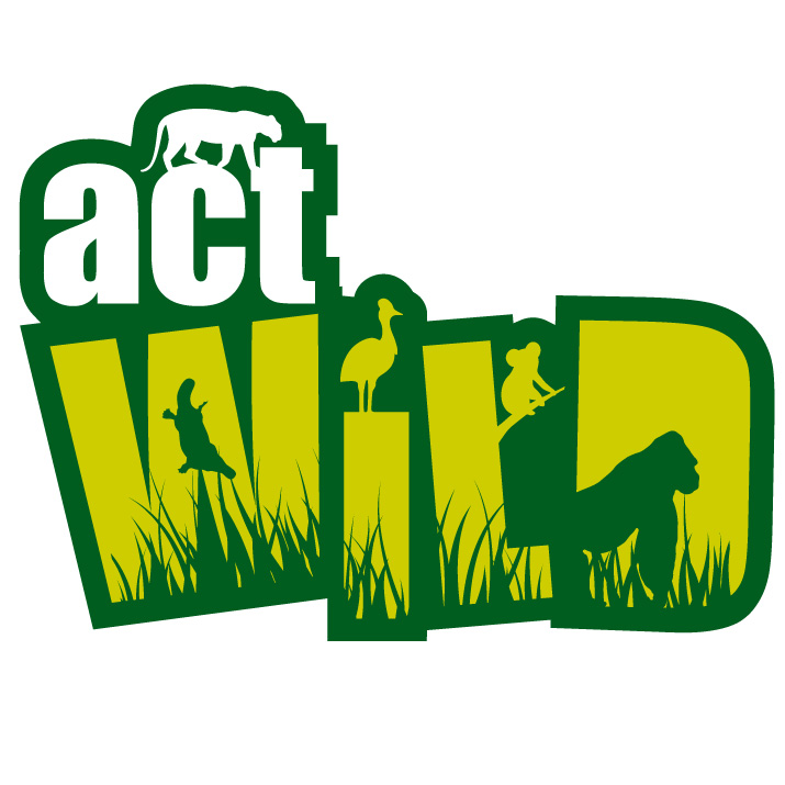 Act Wild logo designed for Zoos Vic by Moko Creative melbourne