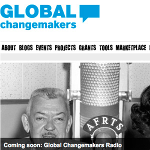 Global Change Makers British Council - design by moko creative